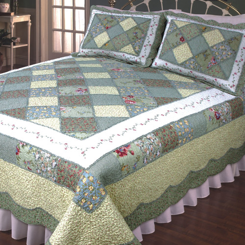Elegant Decor Ashley Quilt