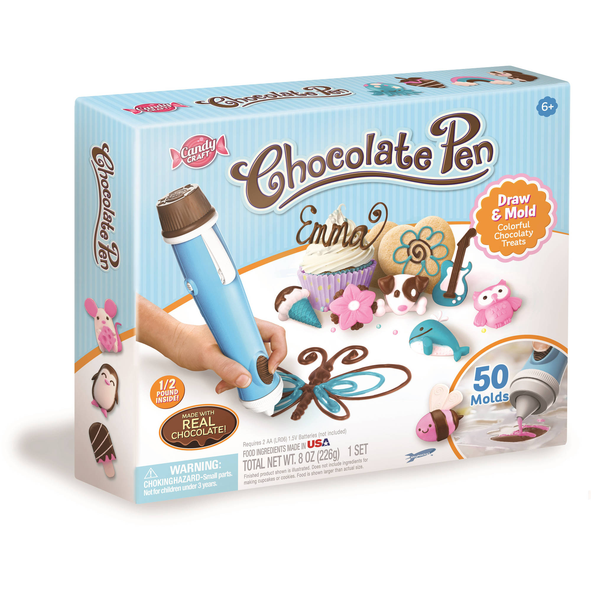 Candy Craft Chocolate Pen, Blue