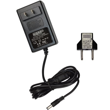 HQRP 18V AC Adapter / 18-Volt Adaptor for Jim Dunlop MXR Stereo Chorus M134 / Stereo Tremolo M159 / 10-Band Graphic EQ M108 Guitar Effects pedals, Power Supply Cord plus HQRP Euro Plug Adapter