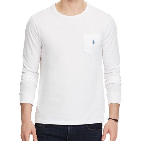 Polo by Ralph Lauren Mens White T-Shirt ()