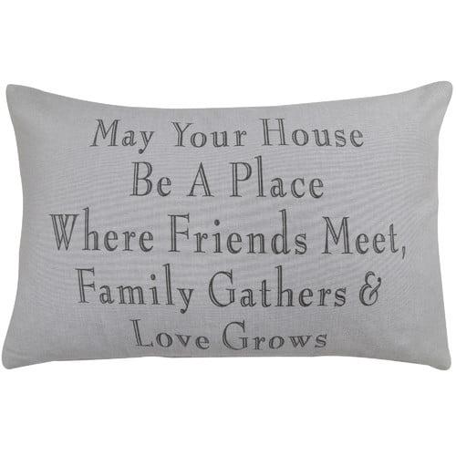 Park B Smith Ltd Family Gathers Pillow