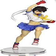 kotobukiya street fighter: sakura bishoujo statue