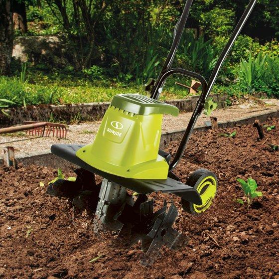 Sun Joe TJ604E Electric Garden Tiller/Cultivator | 16-Inch | 13.5 ...