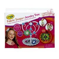 Crayola Fabric Snaps Jewelry Tree