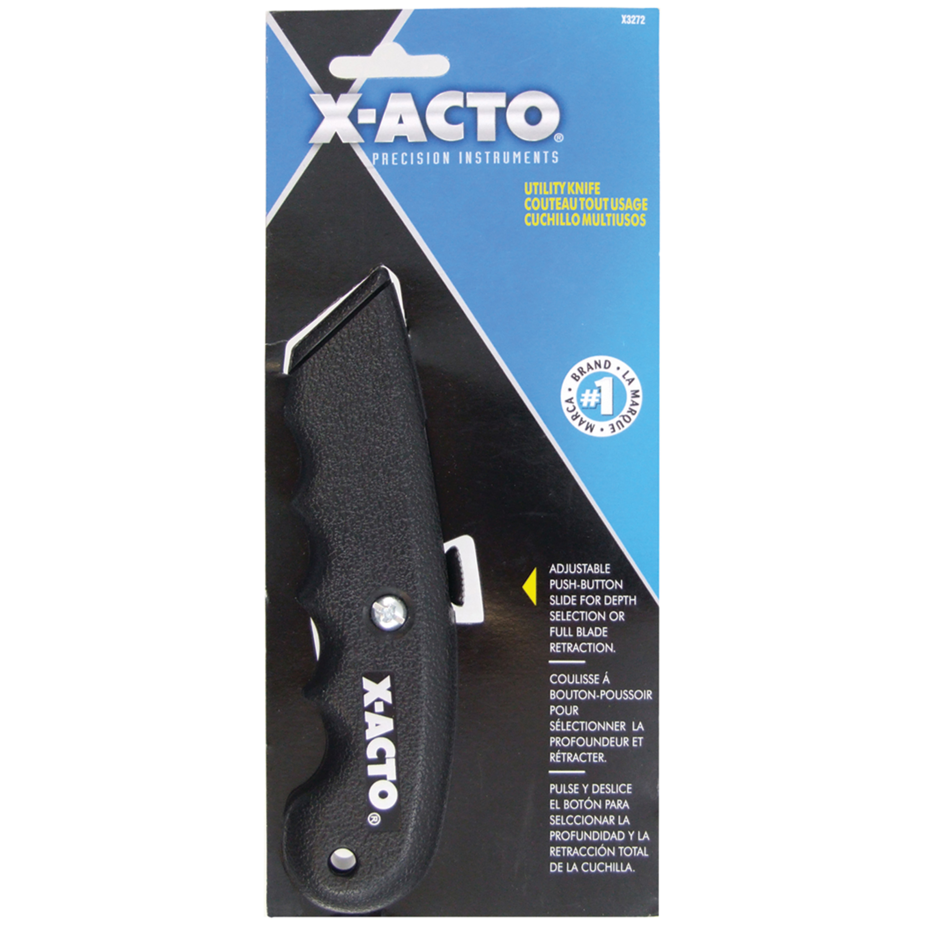 X-Acto SurGrip Utility Knife, Standard