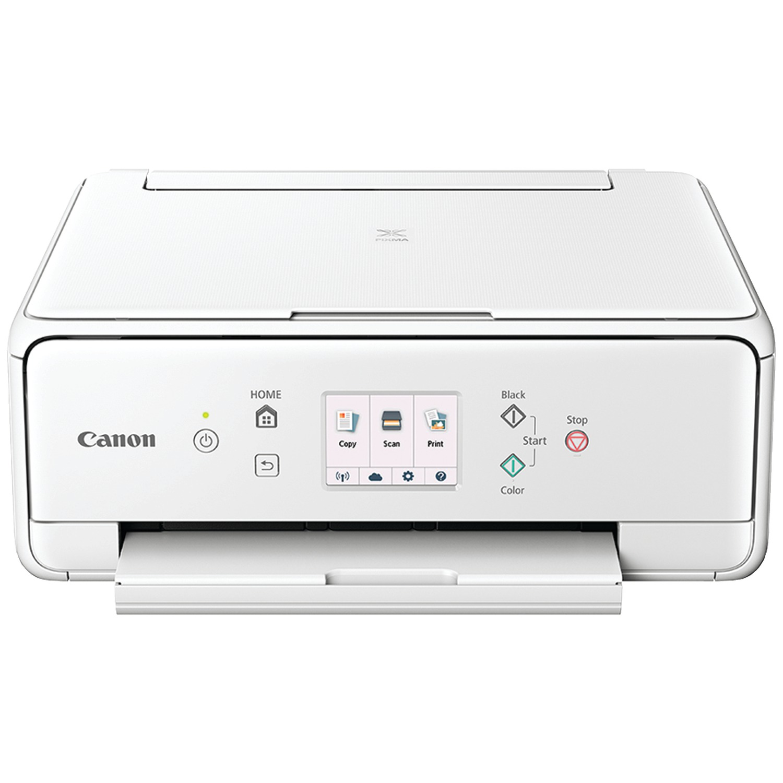 Canon 1368C022 PIXMA TS6020 All-in-One Wireless Printer (White)