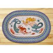 Earth Rugs Mermaids Printed Area Rug