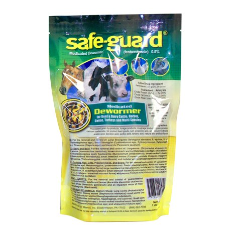 Safe-Guard Multi-Species Dewormer, 1 lb