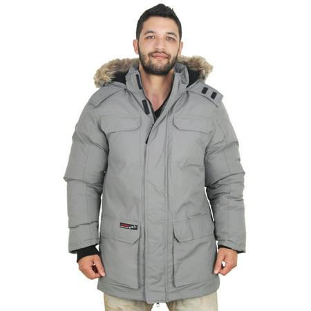 Canada Weather Gear Goose Men's Parka Down Jacket Coat