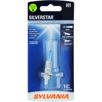 Sylvania H1 SilverStar Auto Halogen Headlight Bulb, Pack of 1