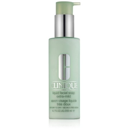 Mild Liquid Facial Soap - Clinique Liquid Facial Extra Mild Soap for Very Dry to Dry Skin 6.7 oz