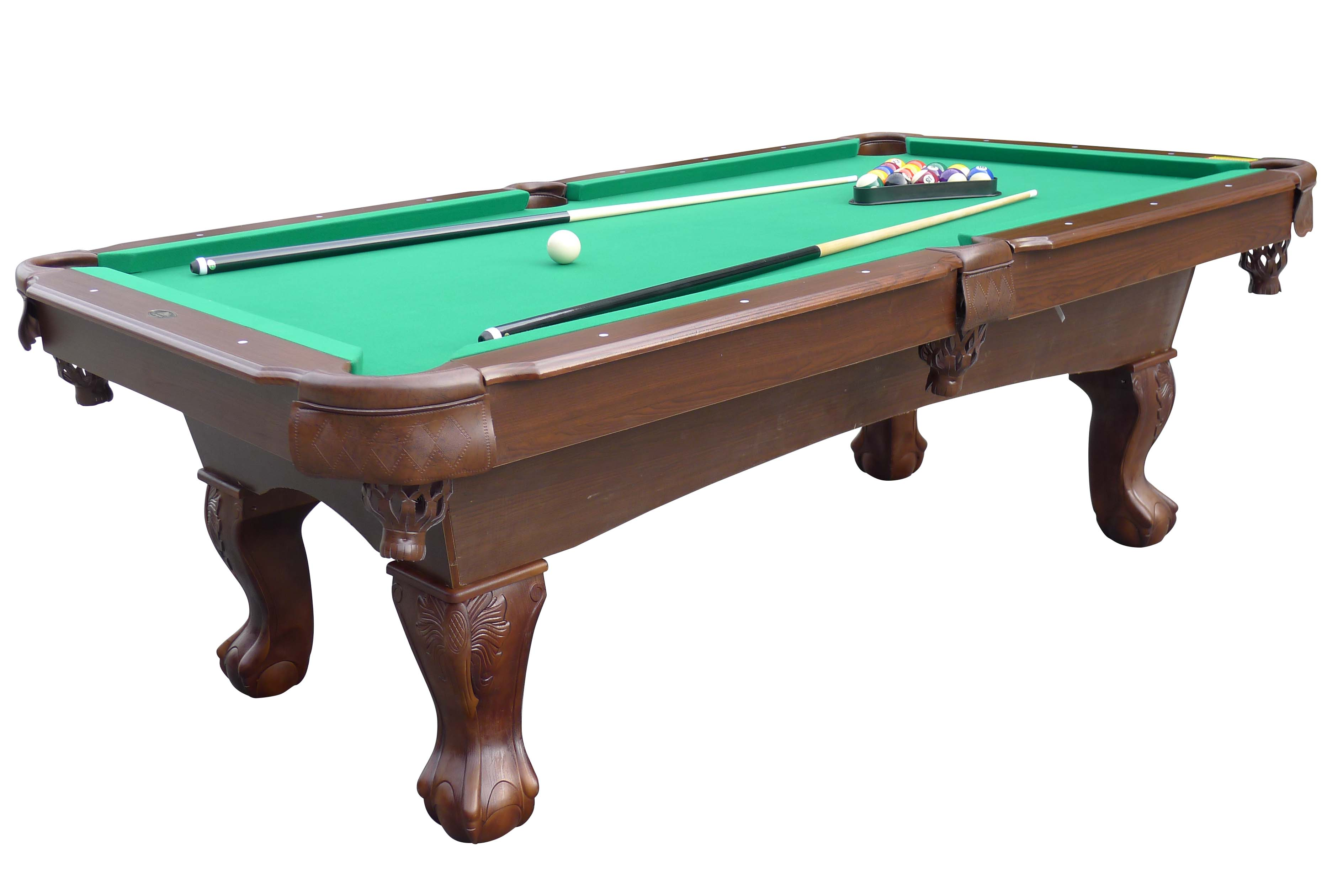 Medal Sports Springdale 7.5 Ft. Billiard Pool Table With Cue Set U0026  Accessories