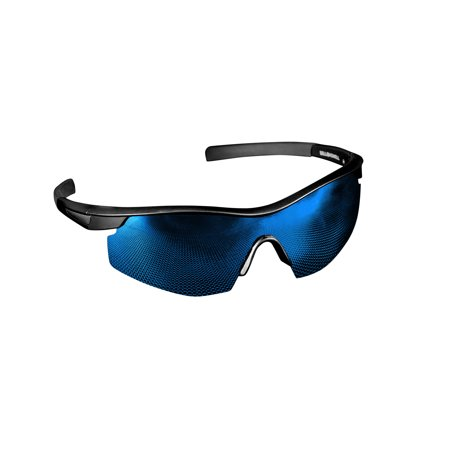 Bell + Howell Tac Glasses - , Military Style Sunglasses, Reduces Glare - With Blue Lens (Bandit Glasses)