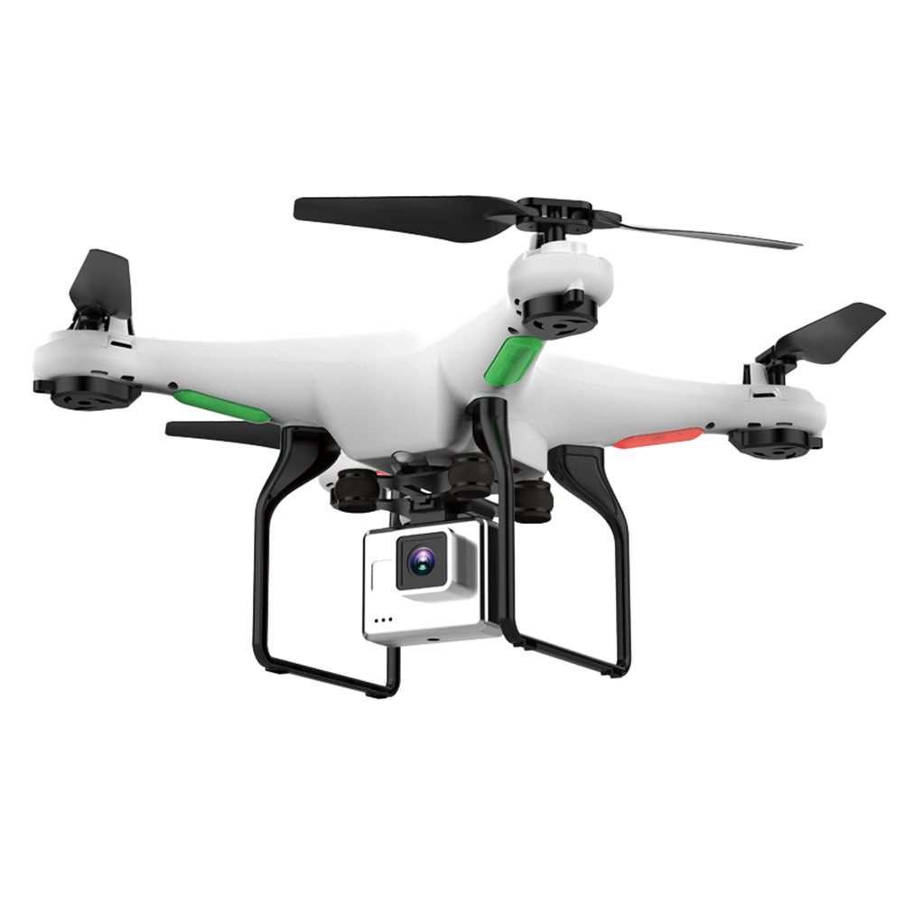 High Low Speed Switching White Foldable Controller Propeller Quadcopter Remote Control Drone 720P Wide-Angle Camera Wal front .