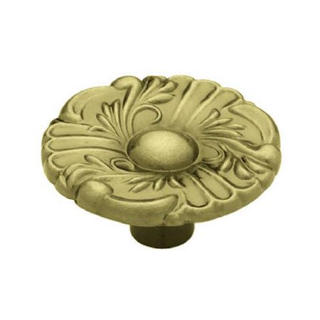 Liberty Hardware P74580H AB C7 Provincial Round Cabinet Knob 1 1 2 In