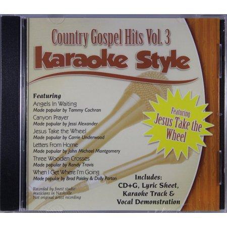 Country Gospel Hits, Volume 3: Karaoke Style (Audiobook)