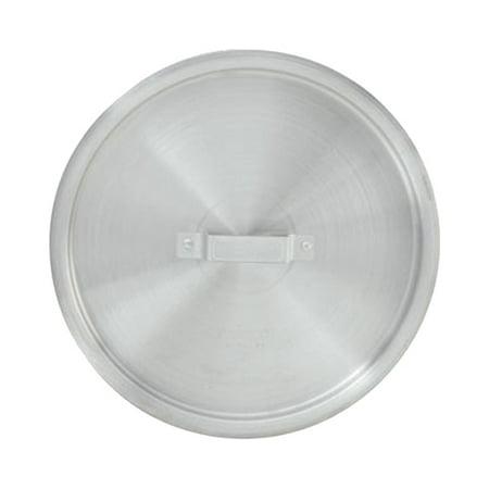 100 Quart Stock Pot - Winware by Winco Lid for Aluminum Stock Pot 100 Quart, 21-3/16