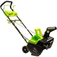 Earthwise SN74022 22-Inch 40-Volt Cordless Snow Thrower, (4.0Ah Battery & Charger Included)