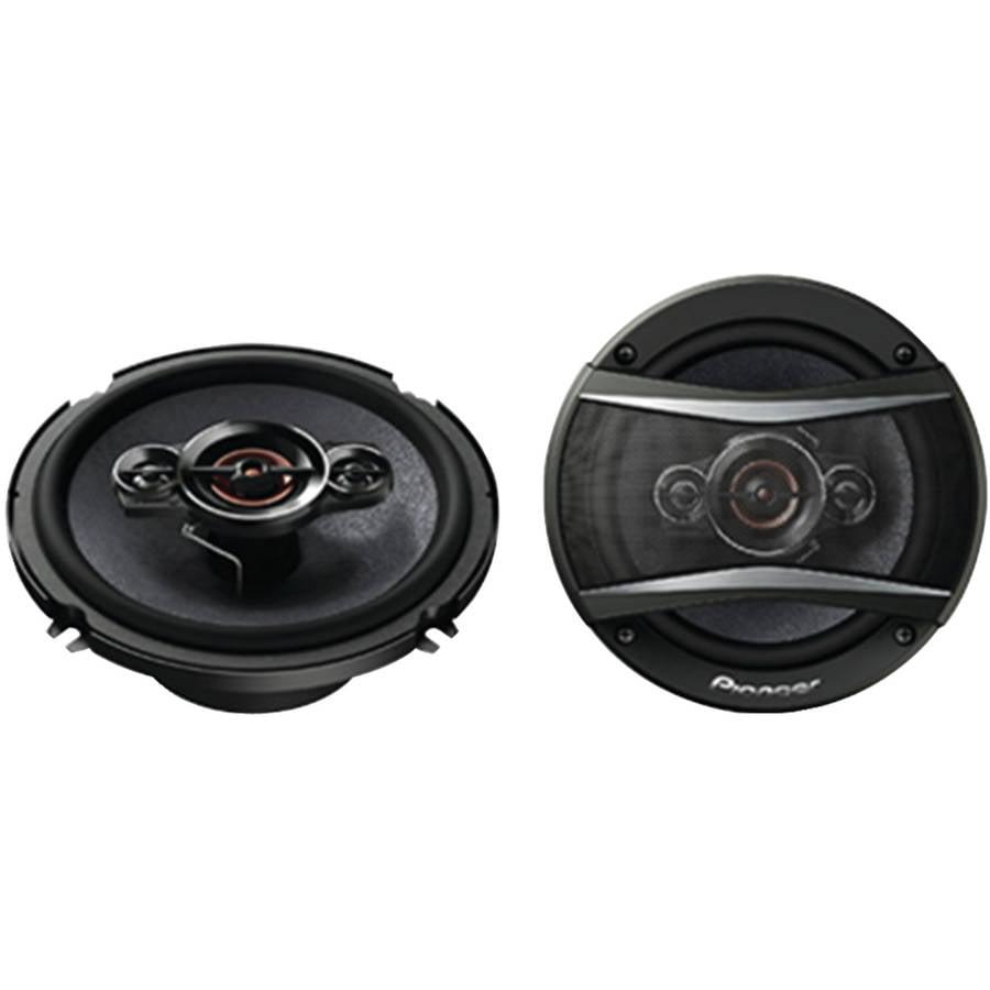 """Pioneer TS-A1686R 6.5"""" A-Series 350-Watt 4-Way Speakers"""