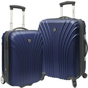 Traveler's Choice Hardsided 2-Piece Ultra Lightweight Spinner Luggage Set
