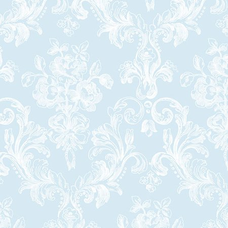 Norwall Wallcoverings Inc Grand Chateau 32 7 X 20 5 Vintage Floral Wallpaper Roll