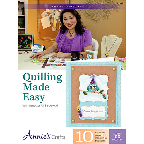 Quilling Made Easy DVD