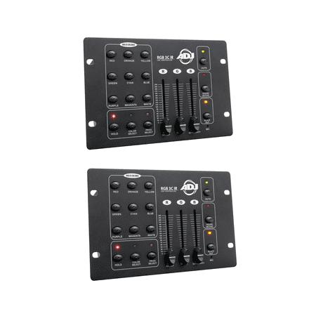 Effects Lighting Controllers (American DJ Compact 3-Channel RGB LED Effect DMX Lighting Controller (2)