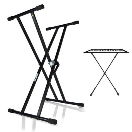 Universal Keyboard Stand, Electronic Digital Piano DJ Table Mount Holder - Height (Best Digital Piano With Notes Holders)