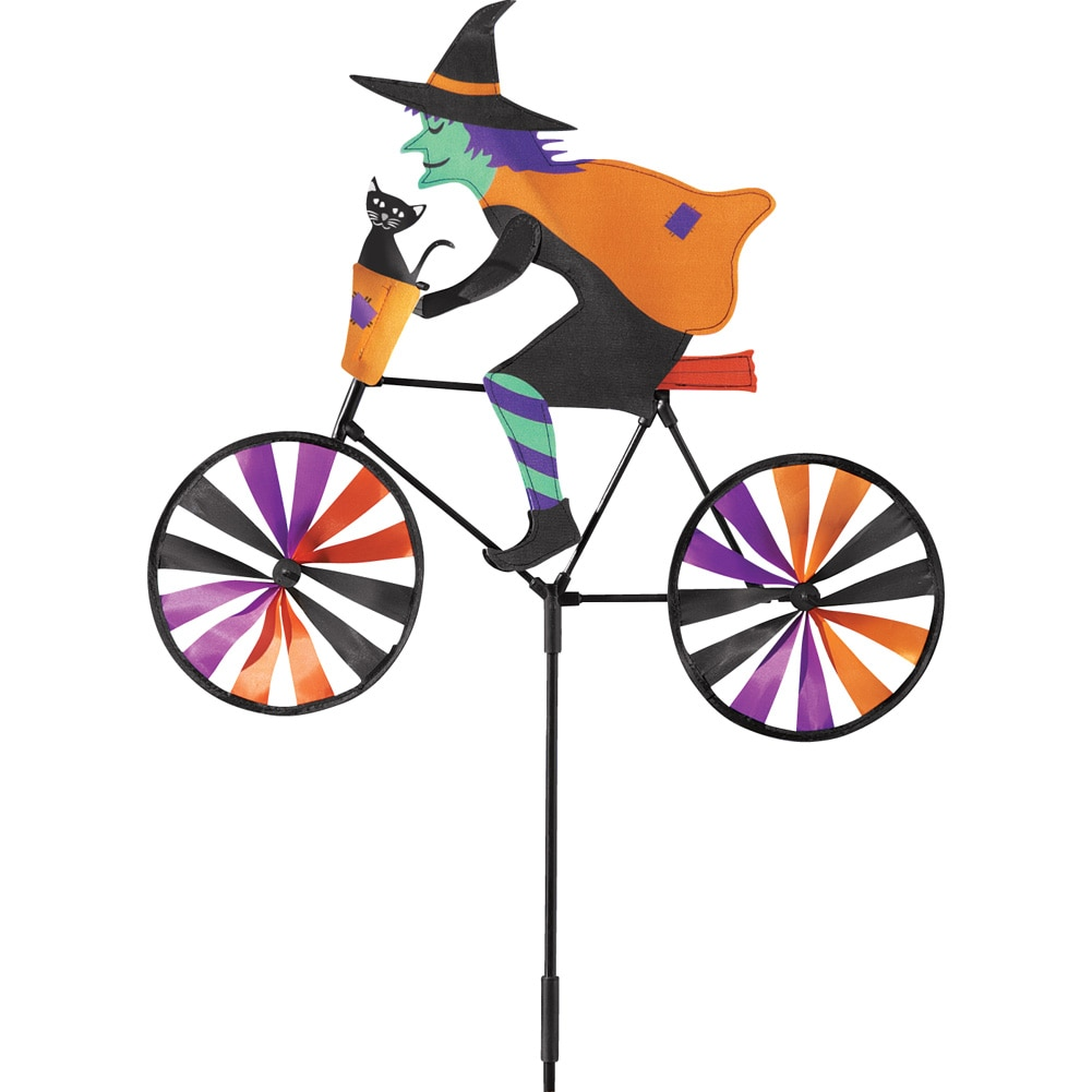 Halloween Witch, Colorful Wind Spinner Garden Stake by Collections Etc