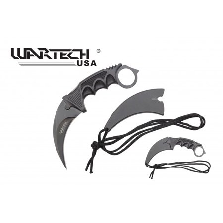 - Fixed-Blade Karambit Neck Knife Wartech 2.5