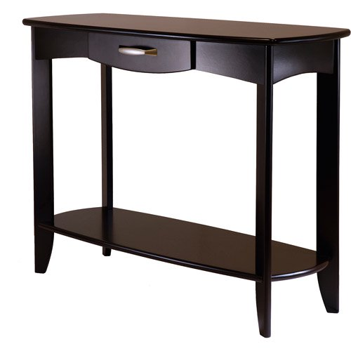 Danica console table espresso for Spl table 98 99