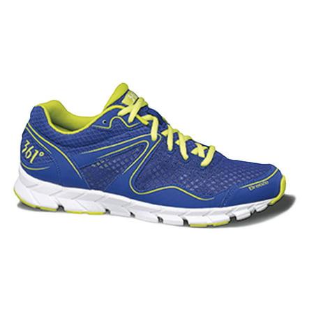 Breeze Mens Shoes - 361 Degrees Breeze Mens Blue/Lime Sneakers