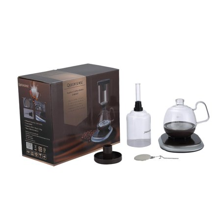 [Factory Store] QUEEN SENSE Siphon /Syphon Coffee Maker Electric Vacuum Coffee Pot CM0601