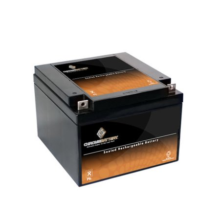 12V 26AH Sealed Lead Acid (SLA) Battery - T3 Terminals - for ZB-12-26 (26ah Sealed Lead Acid Battery)