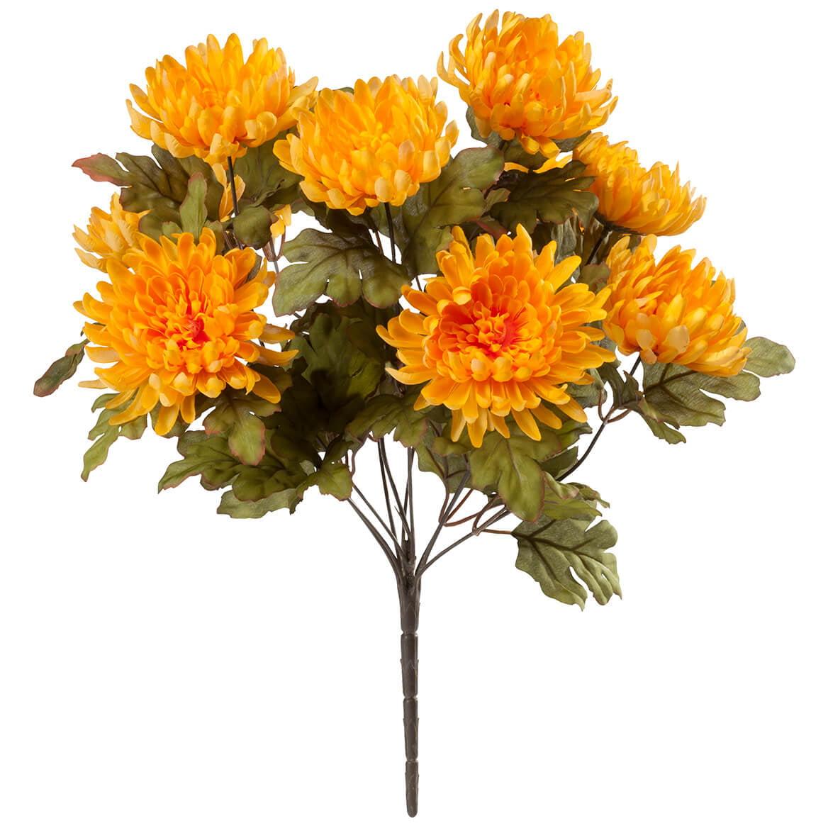 Artificial Mum Bush by OakRidge™ Silk Floral Décor