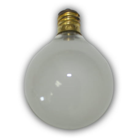 Aspen String Lights Frosted color Replacement Bulb - 1pcs - intermed size bulb. 7 Wattage ()