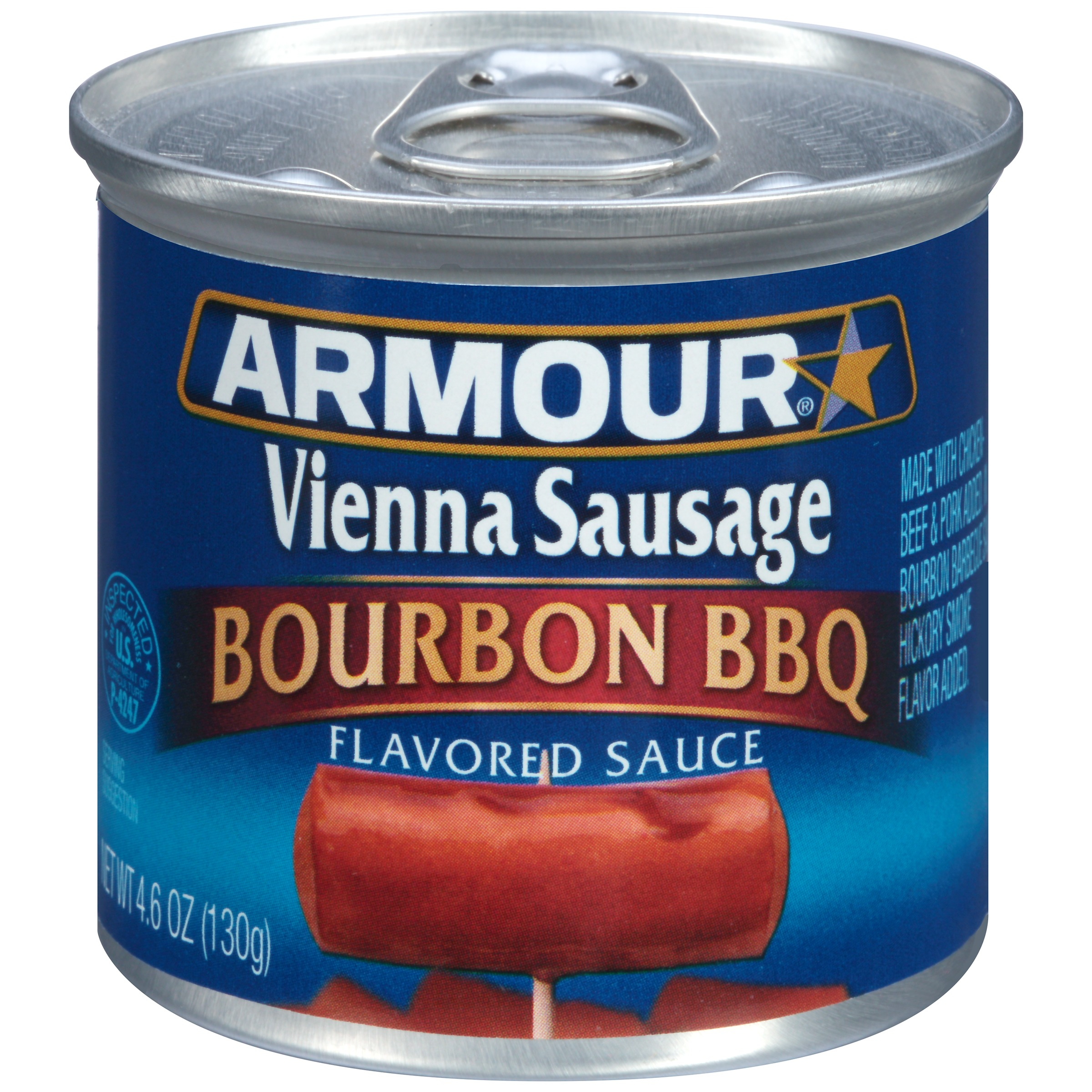 Armour Bourbon BBQ Flavored Vienna Sausage, 4.6 oz