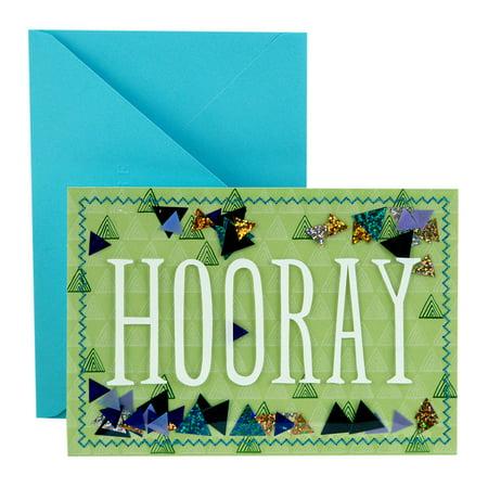 Hallmark Signature Congratulations Greeting Card (Hooray