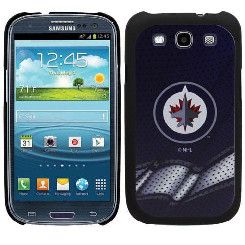 Winnipeg Jets Samsung Galaxy S3 Jersey Thinkshield Case - Polar Night Blue - No Size