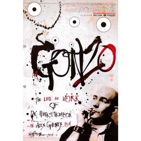 Gonzo: The Life and Work of Dr. Hunter S. Thompson (2008) 11x17 Movie