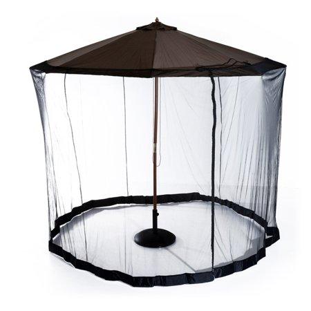 Outsunny 7 5 Ft Outdoor Umbrella Mosquito Net Walmart Com