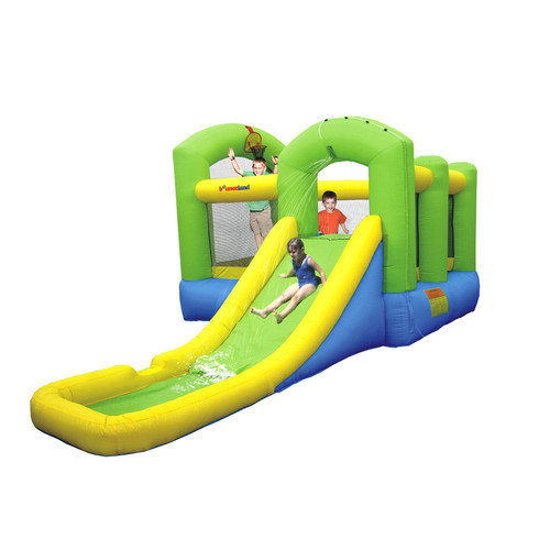 Bounceland Wet or Dry Island Bounce House