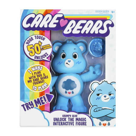"Care Bears 5"" Interactive Figure - Grumpy Bear"