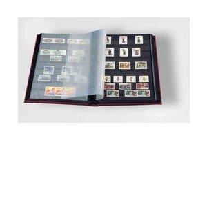 Stamp Album Stockbook by Lighthouse 32-Black Page Stamp