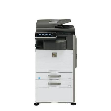 Refurb Print (Refurbished Sharp MX-2640N A3 Color Laser Multifunction Copier - 26ppm, Print, Copy, Scan, Auto Duplex, Network, 2 Trays,)