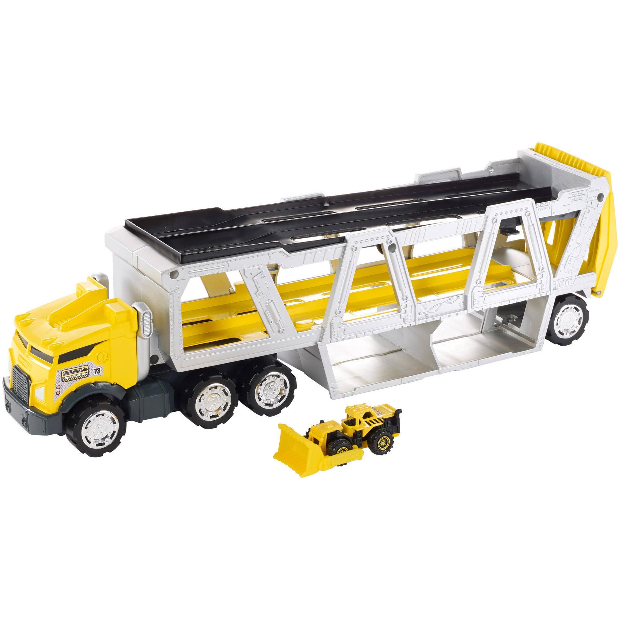 Matchbox Construction Transporter by Mattel