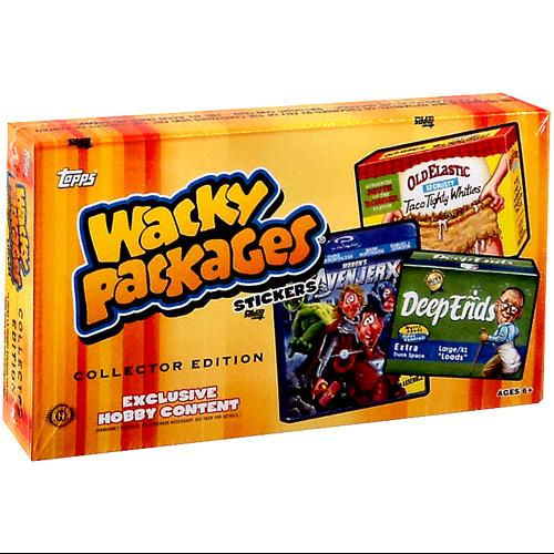 Wacky Packages Wacky Packages Series 11 Trading Card Sticker Collector Box