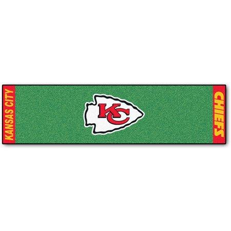 FanMats NFL Kansas City Chiefs Putting Green Mat ()