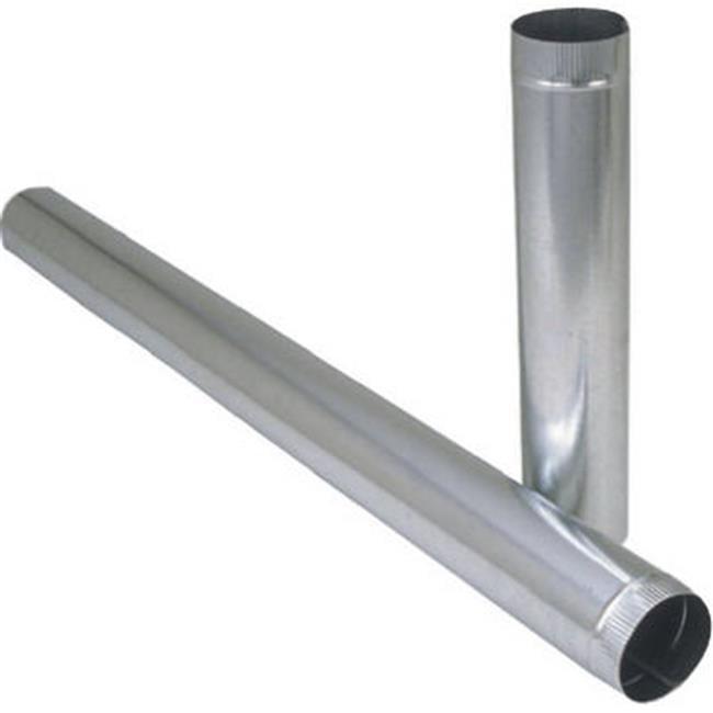 GV0379 6 x 24 in. 24 GA Galvanized Furnace Pipe, Pack Of 10 - image 1 de 1