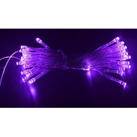 Anleolife 10M/33ft 80PCS Led String Fairy Lights Battery Powered Indoor Room Decor Christmas ...